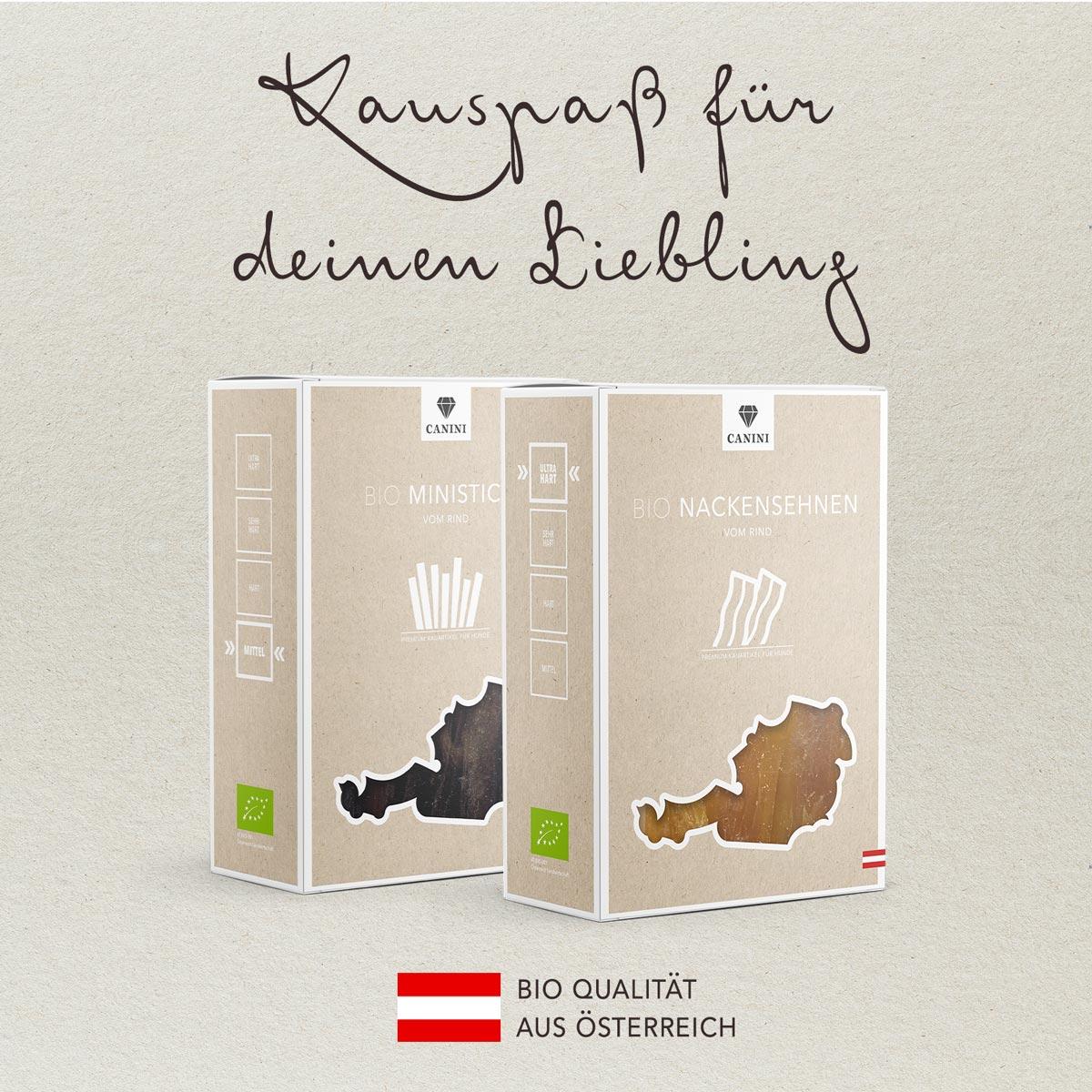 CANINI Bio-Snacks aus Österreich