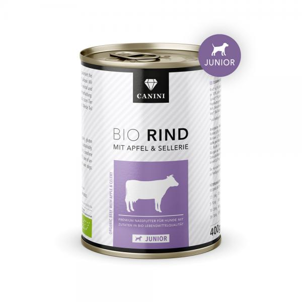 Junior Bio Rind mit Apfel & Sellerie
