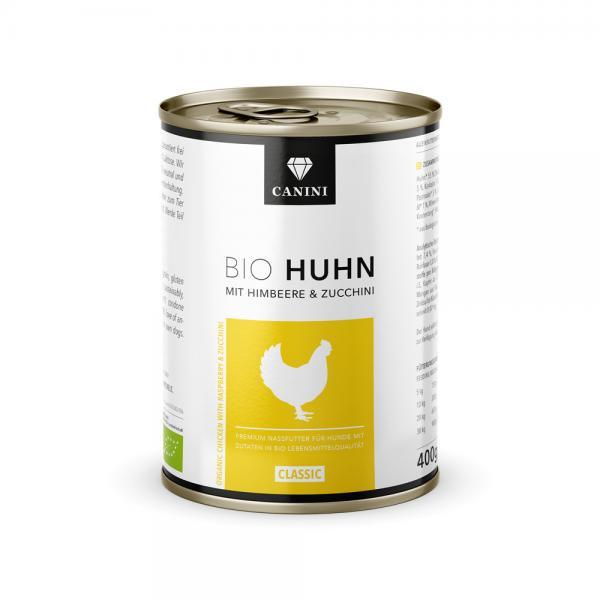 Bio Huhn mit Himbeere & Zucchini